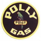 POLLY GAS SIGN COLLECTOR ADV METAL AD SIGNS NIB P