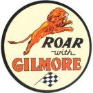 ROAR WITH GILMORE HEAVY METAL SIGN BAKED ENAMEL