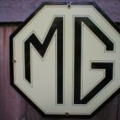 MG PORCELAIN COAT SIGN AUTO SPORTS CAR ADV SIGNS S