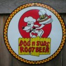 DOG N SUDS PORCELAIN SIGN METAL CAFE BAR PUB AD SIGNS T