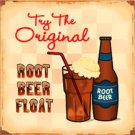 ROOTBEER TIN SIGN RETRO METAL ADV SIGNS P