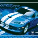 DODGE VIPER TIN SIGN METAL ADV SIGNS