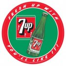 7UP TIN SIGN METAL RETRO ADV SIGNS