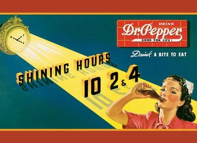 DR. PEPPER TIN SIGN RETRO METAL ADV SIGNS