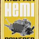 MOPAR HEMI POWERED TIN SIGN METAL RETRO ADV SIGNS M