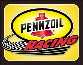 PENNZOIL RACING TIN SIGN METAL RETRO ADV SIGNS P