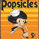 POPSICLE TIN SIGN METAL RETRO ADV SIGNS P
