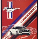 LEGENDARY FORD MUSTANG MUSCLE ALUMINUM SIGN ADV SIGNS