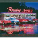 ROSIE'S DINER  CAR TIN SIGN METAL CORVETTE SIGNS C