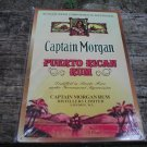 CAPTAIN MORGAN PUERTO RICAN RUM TIN SIGN