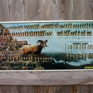SPEER BULLETS MOUNTAIN GOAT TIN SIGN COLLECTOR AMMUNITION ADV SIGNS