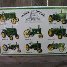 JOHN DEERE 8 TRACTORS SIGN METAL ADV SIGNS J