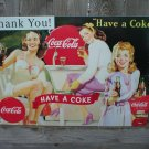 HAVE A COKE COCA-COLA TIN SIGN METAL RETRO ADV SIGNS C