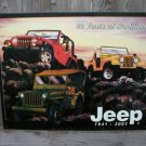 JEEP TRADITION TIN SIGN METAL RETRO ADV SIGNS J