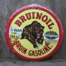 BRUINOIL TIN SIGN METAL ADV RETRO GAS SIGNS B