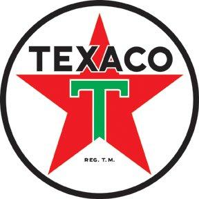 TEXACO PETROLEUM PRODUCTS SIGN METAL ADV RETRO SIGNS T