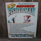 FISHERMAN REDNECK SIGN JEFF FOXWORTHY METAL ADV SIGNS J