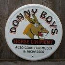 DONNY BOYS HORSE LINIMENT TIN SIGN