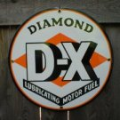 DIAMOND D-X PORCELAIN COAT SIGN