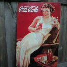 DRINK COCA-COLA TIN SIGN