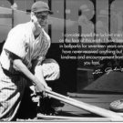 LOU GEHRIG TIN SIGN