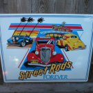 STREET RODS FOREVER TIN SIGN
