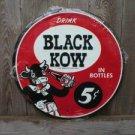 BLACK COW TIN SIGN