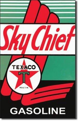 TEXACO SKYCHIEF TIN SIGN