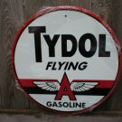 TYDOL FLYING A GASOLINE TIN SIGN