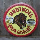 BRUINOIL TIN METAL SIGN