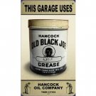 OLD BLACK JOE AXLE GREASE TIN METAL SIGN