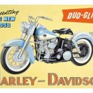 HARLEY DAVIDSON DUO-GLIDE SIGN