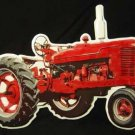 FARMALL DIE-CUT TRACTOR TIN SIGN