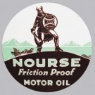 NOURSE MOTOR OIL HEAVY STEEL SIGN
