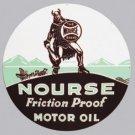 NOURSE MOTOR OIL HEAVY STEEL SIGN