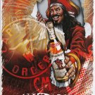 METAL CAPTAIN MORGAN RUM CAPTAINS ORDERS TIN SIGN