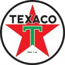 "42"" TEXACO PETROLEUM PRODUCTS HEAVY METAL SIGN"