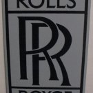 ROLLS ROYCE PORCELAIN COATED SIGN