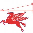 PEGASUS FLYING RED HORSE SIGN WALL MOUNT