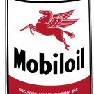 BIG MOBIL OIL PREMIUM OIL CAN STEEL SIGN