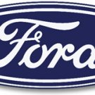 FORD OVAL VINTAGE STYLE SIGN