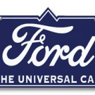 Ford Universal Car Metal Sign