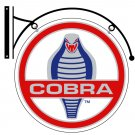 COBRA DOUBLE SIDED DISK METAL SIGN BRACKET