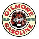 GILMORE BLU-GREEN GASOLINE METAL SIGN