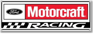 FORD MOTORCRAFT RACING SIGN