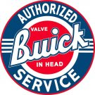 "42"" BUICK SERVICE HEAVY STEEL SIGN"
