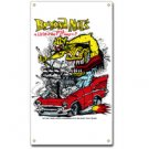 RAT FINK BEYOND NUT'S METAL SIGN