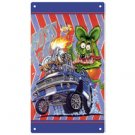 RAT FINK BOSS MUSTANG METAL SIGN