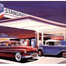 THE CRUISERS STANDARD GAS STATION HEAVY STEEL SIGN