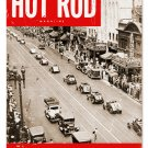 HOT ROD MAGAZINE COVER MARCH 1951 TIN SIGN 24 GAUGE